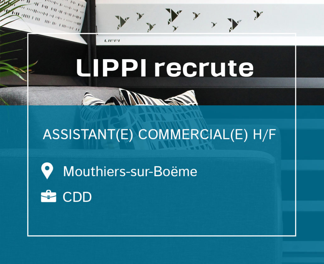 Recrutement CDD Assistant(e) Commercial(e)