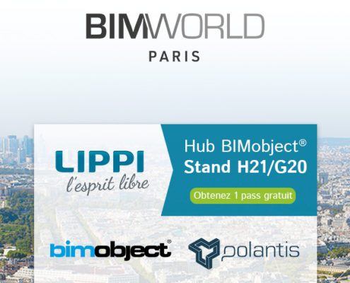 LIPPI expose au BIM World